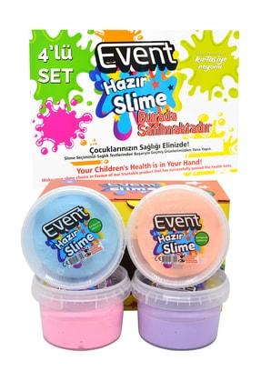 EVENT Özel Kutulu 4 Renk 180 Gr Hazır Slime Ce Belgeli Kaliteli Ürün