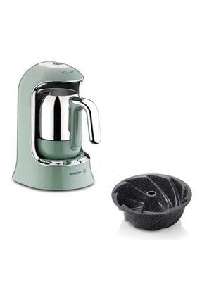 KORKMAZ A860-04 Kahvekolik Otomatik Kahve Makinesi Turkuaz Ve Schafer Kek Kalıbı