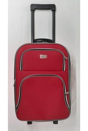 Planet Kumaş Valiz - Kırmızı