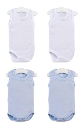 Pattaya Kids Erkek Bebek Çıtçıtlı Kolsuz Body 0-36 Ay Ptk20s-402