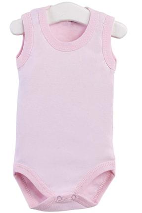 Pattaya Kids Kız Bebek Pembe Çıtçıtlı Kolsuz Body Ptk20s-405