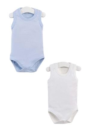 Pattaya Kids Erkek Bebek Çıtçıtlı Kolsuz Body  Ptk20s-406