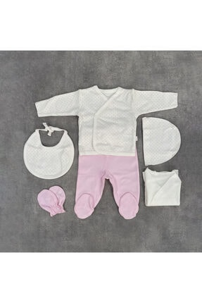 Bebetto Kız Bebek Puantiyeli 5'li Set