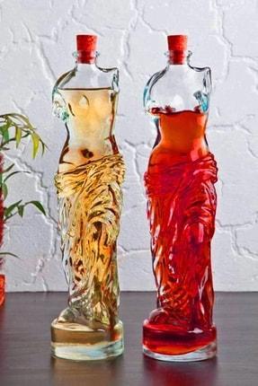Million Store Venüs Yağdanlık - Kadın Figürlü Sirkelik Sosluk 200 ml 2li Set