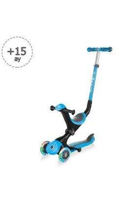 Globber Scooter/go Up Deluxe Işıklı Teker/mavi