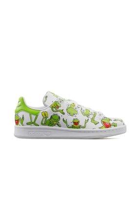 adidas Erkek Yeşil Stan Smith  Günlük Ayakkabı Fz2707