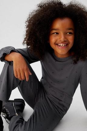 MANGO Kids Kız Çocuk Siyah Tulum 57058255