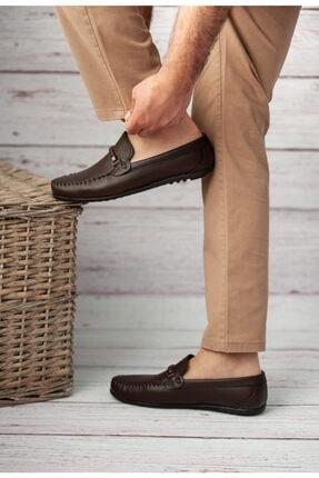 Wadork Erkek Kahverengi Loafer Casual Ayakkabı