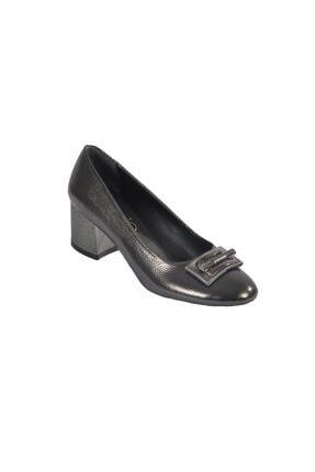 Maje 2124 Platin Kadın Topuklu Ayakkabı