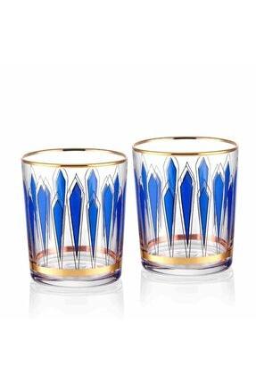 The Mia Mavi Desenli Su Bardağı 2'li