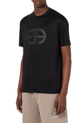 Emporio Armani Erkek Logo Baskılı Bisiklet Yaka T Shirt T Shirt 3k1tad 1juvz 0999