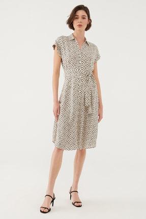 Mavi Kadın Beyaz Elbise 131138-35345