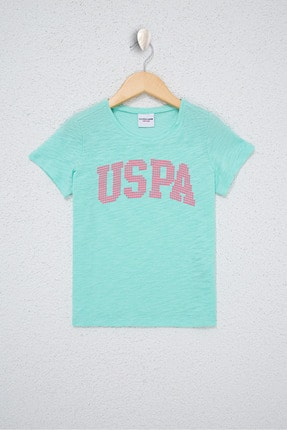 U.S. Polo Assn. Yesıl Kız Çocuk T-Shirt