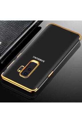 Samsung Galaxy J8 Kılıf Şeffaf Köşeleri Renkli Şık Tasarım Kapak