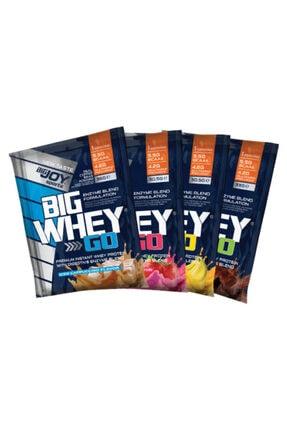 Big Joy Bigjoy Big Whey Protein Tozu 4 Paket Mix