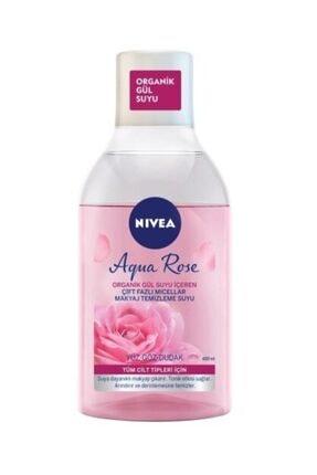 Nivea Aqua Rose Micellar Micellaır Organik Gül Suyu İçeren Çift Fazlı Makyaj Temizleme Suyu 400ml