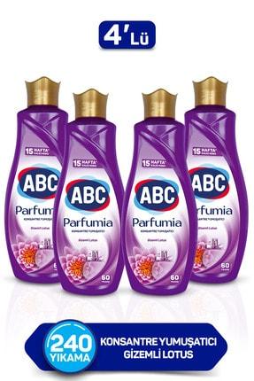 ABC Parfumia Gizemli Lotus Konsantre Yumuşatıcı 1440 Ml 4'lü Seti