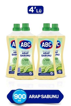 ABC Arap Sabunu 900 Ml 4'lü