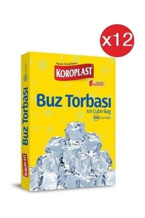 Koroplast Buz Torbası 196 Küp x12 Paket