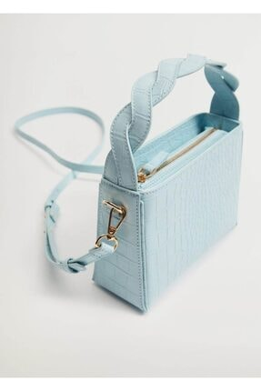 MANGO Woman Desenli Mini Çanta