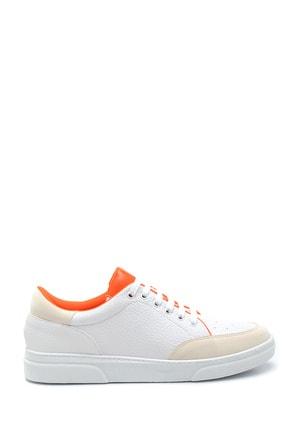 Derimod Kadın Beyaz Renk Detaylı Sneaker