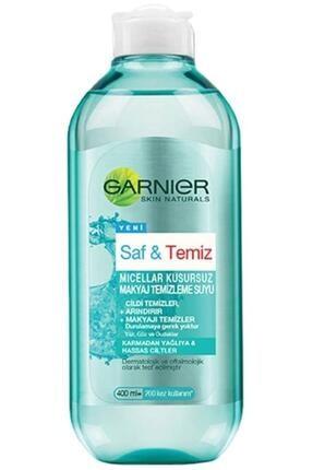 Garnier Unisex Saf & Temiz Kusursuz Makyaj Temizleme Suyu 400 ml