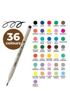 artline Supreme Brush Pen - Pastel Mor