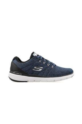 SKECHERS Erkek Mavi Bağcıklı Koşu Antrenman Ayakkabı 52957 Blbk