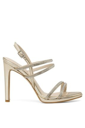 İnci PIA.Z 1FX Altın Kadın Topuklu Sandalet 101038362