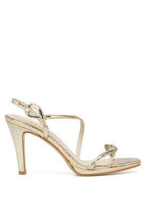 İnci NICE.Z 1FX Altın Kadın Topuklu Sandalet 101038348