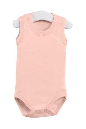 Pattaya Kids Kız Bebek Somon Çıtçıtlı Kolsuz Body Ptk20s-405