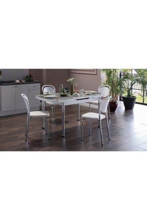 İSTİKBAL Milton Masa-sandalye Takım Beyaz
