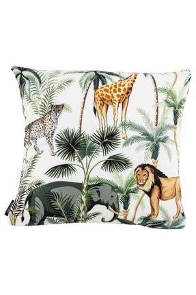 Mudo Concept Tropıc Jungle Kırlent Yeşil 45x45cm
