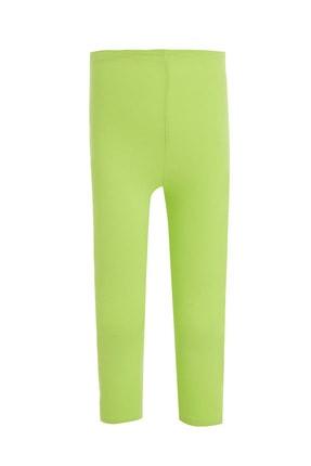 DeFacto Kız Çocuk Yeşil Slim Fit Kapri Boy Tayt