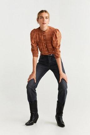 Mango Kadın Turuncu Bluz 51005037