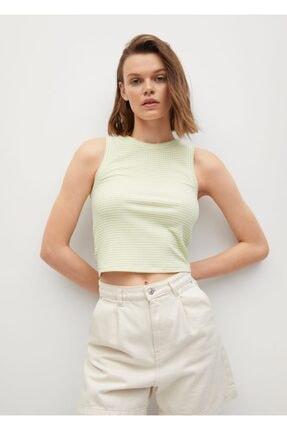MANGO Woman Geri Dönüştürülmüş Polyesterli  Bluz