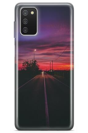 Melefoni Samsung Galaxy A02s Ile Uyumlu Roads Serisi Uv Baskılı Silikon Kılıf