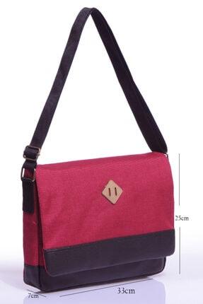 Sword Bag Bordo Cordora Tablet Postacı Çantası Sw3021