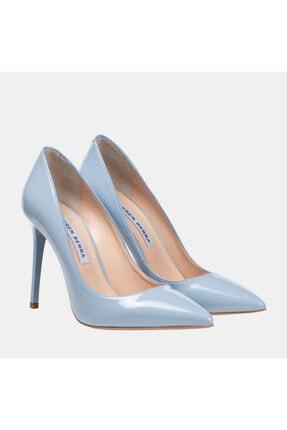 BerenBerra Turkuaz- Mavi  Topuklu Ayakkabı-24046