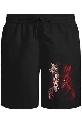 Lord T-Shirt Naruto - Storm Unisex Siyah Şort