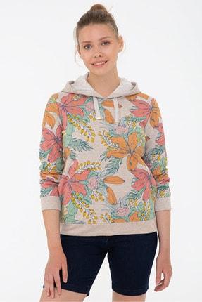 U.S. Polo Assn. Bej Kadın Sweatshirt