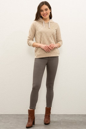 U.S. Polo Assn. Kahverengı Kadın Eşofman Altı