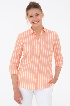 U.S. Polo Assn. Turuncu Kadın Gömlek