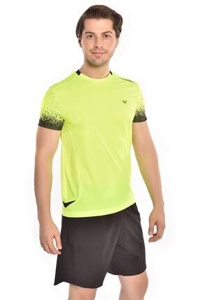 bilcee A.yeşil Erkek T-shirt Gs-1329