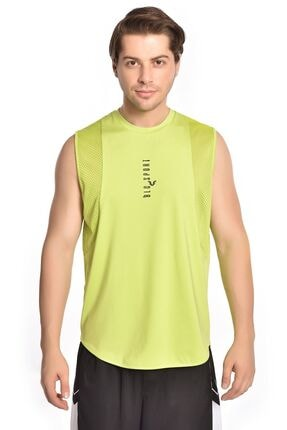 bilcee Erkek Yeşil File Detaylı Atlet Hs-8773