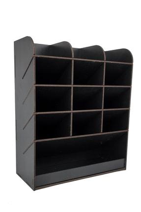woodsia Mirage Masaüstü Kalemlik Organizer Ofis Düzenleyici(siyah)