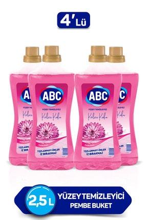 ABC Pembe Buket Yüzey Temizleyici 2500 ml X4