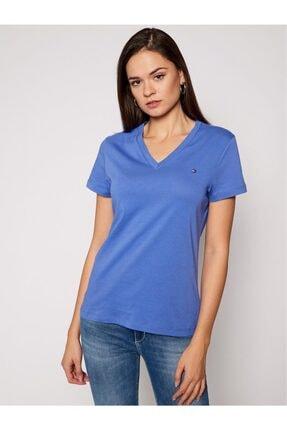 Tommy Hilfiger V- Neck Kadın T-shirt