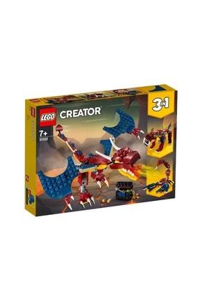 LEGO -31102 Creator 3'ü 1 Arada Ateş Ejderhası