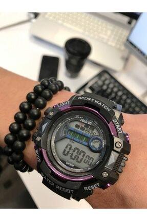 Polo55 Unisex Dijital Kol Saati Ve Bileklik Sport Watch Modeli